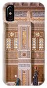 Cairo Interior Of The Mosque IPhone Case