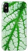 Caladium Leaf  IPhone Case