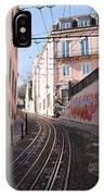 Calcada Da Gloria Street In Lisbon IPhone Case