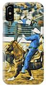 Calf Ropers IPhone Case
