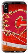Calgary Flames Christmas IPhone Case