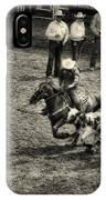 Calgary Stampede Black And White IPhone Case