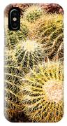 California Barrel Cactus IPhone Case
