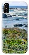 California Central Coast Near San Simeon IPhone Case