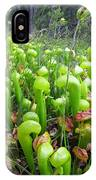 California Pitcher Plant IPhone Case