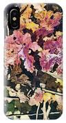California Vineyard Series Fall Grape Leaves IPhone Case