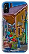 Calistoga Depot IPhone Case