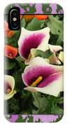 Calla Lilies Bloom IPhone Case