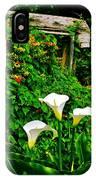 Calla Lilies Vertical IPhone Case