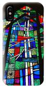 Callaway Gardens Chapel Stained Glass IPhone Case