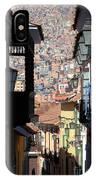 Calle Jaen La Paz IPhone Case