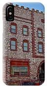 Calumet Hotel-1887 In Pipestone-minnesota  IPhone Case