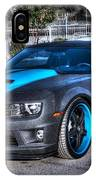 Camaro 1ss Coupe IPhone Case