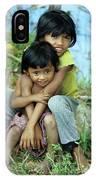 Cambodian Children 02 IPhone Case