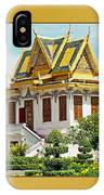 Cambodian Temples 1 IPhone Case