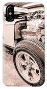 Cambra Speed Shop IPhone Case