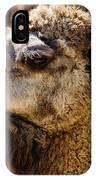 Camel Loose Lip IPhone Case