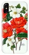 Camellia Adolf Audusson IPhone Case