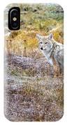 Camo Coyote IPhone Case