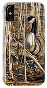 Camouflaged Canada Goose IPhone Case