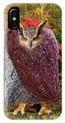 Camouflaged Owl IPhone Case