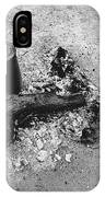 Camp Fire Fall Cattle Round-up Tohono O'odham Indian Reservation Near Sells Arizona 1969 IPhone Case