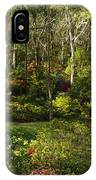 Campbell Rhododendron Gardens 2am 6831-6832 Panorama IPhone Case