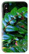 Campground Foliage IPhone Case