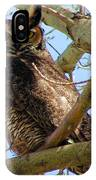 Campus Owl IPhone Case
