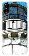Cana Island Lighthouse Tower IPhone Case