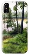 Canada Morning IPhone Case