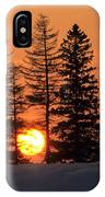 Canadian Sunset IPhone Case
