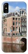 Canal Houses In Amsterdam IPhone Case