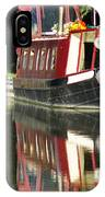 Canal Reflections Cropped IPhone Case