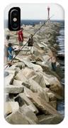 Canal Swim Risky Behavior IPhone Case