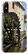 Canal Waterwheel IPhone Case