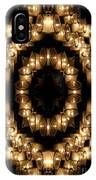 Candles Abstract 6 IPhone Case