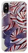 Candy Cane Christmas IPhone X Case