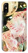 Candy Cane Dreams IPhone Case