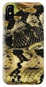 Canebrake Rattlesnake IPhone Case