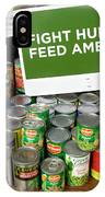 Canned Goods For Food Banks IPhone Case