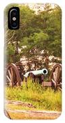 Cannon On Culps Hill IPhone Case