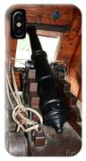 Cannon On Sailship IPhone Case
