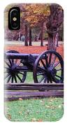 Cannon On The Parade Grounds IPhone Case
