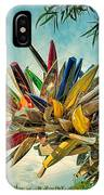 Canoe Art IPhone Case