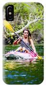 Canoe For Girls IPhone Case