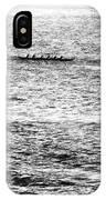 Canoe Glitter IPhone Case