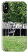 Canons At Fort Loudon IPhone X Case