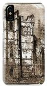 Canterbury, Uk, 1883 The Dark Entry, Beckets Crown IPhone Case