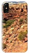 Canyon At Calf Creek IPhone Case